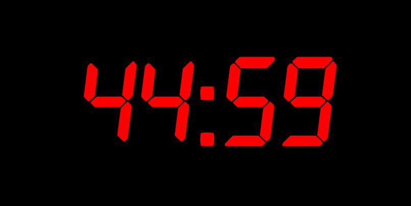 Timer odliczający czas